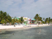 Caye Caulker from the water taxi pier