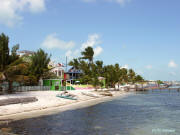 Caye Caulker from the pier